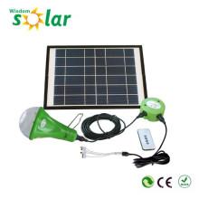 Portátil novo útil CE levou lanterna solar para iluminação doméstica com carregador do telefone móvel