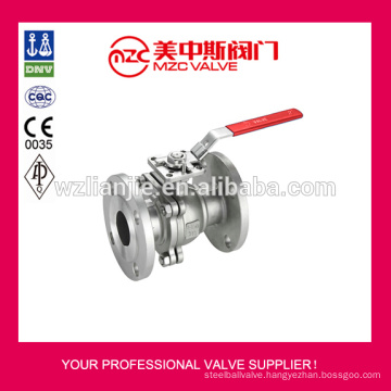 150LB Flanged Ball Valve CF8M Stainless Steel Ball Valve