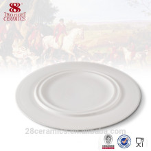 wholesale Hotel crockery, banquet crockery, white crockery plate
