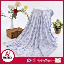 cobertor da impressão do piquenique da roupa de noite cobertor digital do sherpa da cópia da cara dobro