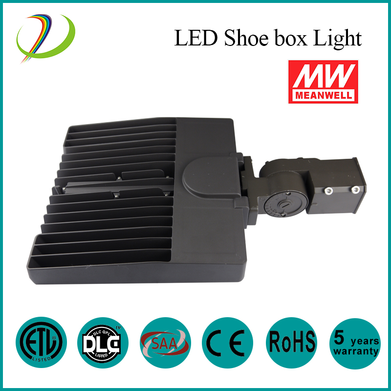 DLC IP65 150W Led Shoe Box Light