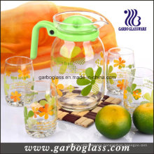 7PCS Glass Lemon Set with Printing