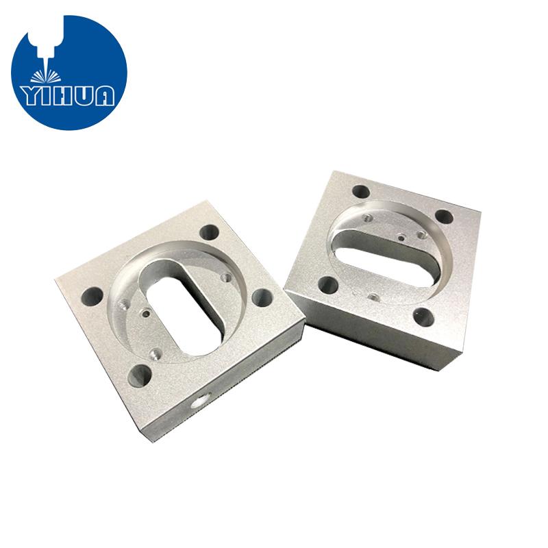 CNC Milling Sandblasted Aluminum Part
