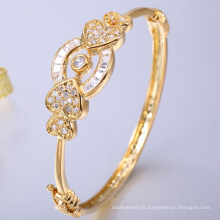 usine en gros 18 k or bijoux OEM bracelet bracelet fabriqué en Chine