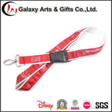 Custom Sublimation Printed Personalized 20mm Ribbon Satin Lanyard