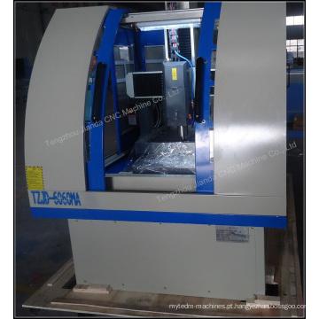 Trituração contínua do CNC da cama do torno e router da máquina de molde