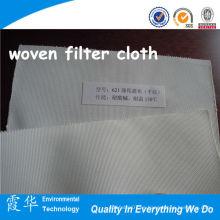 Paño de filtro tejido de poliéster de alta calidad para planta de cemento