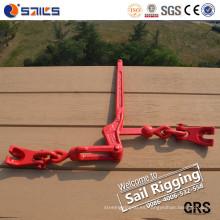 Tipo de palanca Carpeta de carga de cadena con garras