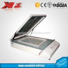 máquina de exposición de pantalla de seda UV de escritorio de vacío para la venta