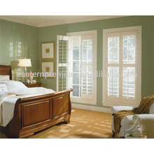 Ajustável 89mm grelha madeira plantação janela obturador móveis da china