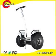 Электрический самокат с балансиром на двух колесах