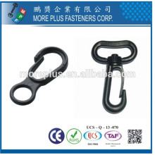 Made in Taiwan Plastic Swivel Mini Snap Hooks