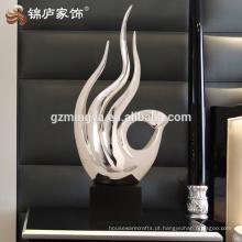 Decoração decoração doméstica resina arte artesanato bem-vindo decoração moderna mão forma estátua