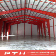 Taller de estructura de acero prefabricado ligero barato de larga duración