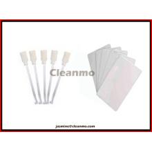 Kit de limpieza regular Evolis ACL001 compatible (para limpiar el rodillo y el cabezal de impresión)