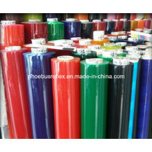 PVC reflectante color transparente