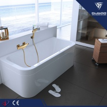 Bathroom Bathtub Wall Mounted Thermostat Brass Shower Faucet