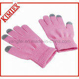 Knitted Acrylic Magic Texting Glove with Azo Free (kimtex-12)