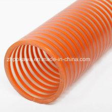 Hochwertiger Saugschlauch mit PVC Orange Helix
