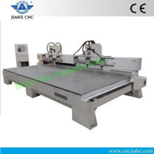 Heavy Duty T-slot Cheap CNC Wood Routing Machine Used for Wood JK-4815 With Italy HSD Spindle