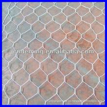 Malla de alambre galvanizada caliente del gabion (fábrica grande y exportador)