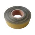 Polyethylene backing based hot melt adhesive heat shrinkable tape