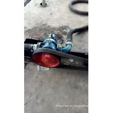 Bomba de lóbulos rotativos horizontales de bomba de acero inoxidable de alta viscosidad LC
