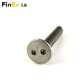 Stainless Steel Self Tapping Security Snake Eye Screw