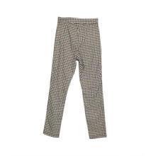 Calças de trabalho elásticas femininas de cintura alta casual de cintura alta