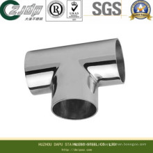 T sem costura de aço inoxidável com ASTM (316TI)