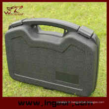Militaire tactique 32cm outils en plastique dur cas pistolet valise