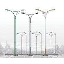2015 bester Verkauf Neuer Entwurfsstahllampe Pole ringsum