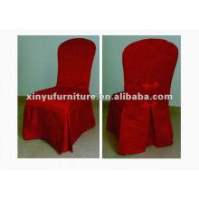 Housse de chaise rouge occidentale XC966