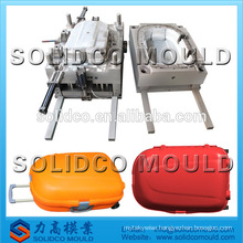 plastic travel trolley Luggage box mould manufacture