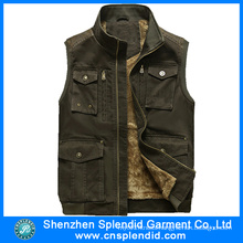 Custom Competitive Price Fashion Denim Vest for Boys