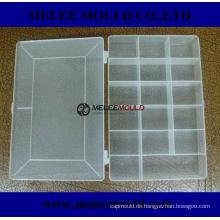 Plastikform-Speicher-Organisator-Kasten mit entfernbaren Teilern