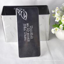 Preço de fábrica Chá de embalagens de lata de caixa de atacado Custom Tea Tins