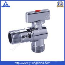 Vanne à bille d'angle en laiton (YD-5033)