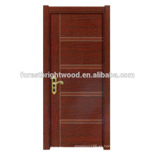 Puerta de madera popular de la melamina del oscilación del diseño
