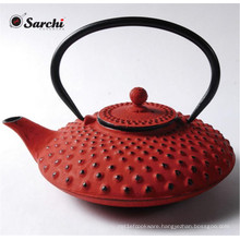 Cast Iron teapot with infuser inside