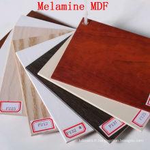 MDF de 15 mm en mélamine de prix bon marché