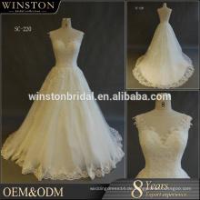 China liefern alle Arten von Brautkleidern plus Größe für Braut 2017 zum Verkauf