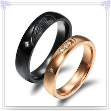 Модные аксессуары из нержавеющей стали ювелирные кольца (SR559)