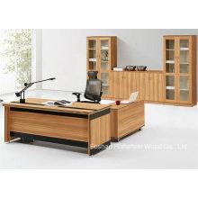 Escritório executivo do escritório moderno de madeira executivo (HF-BD035)