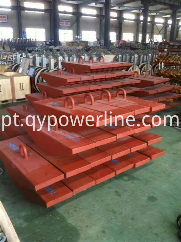 Ship Type Steel ground anchor