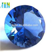 Corte do diamante do peso de papel de 80mm cristal / lembranças do casamento / decor home / doorgift