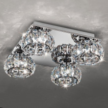 Europe style for Modern Hanging Light Simple indoor crystal chandelier ceiling light export to Portugal Factories
