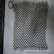 Stainless steel kitchen dish scrubber