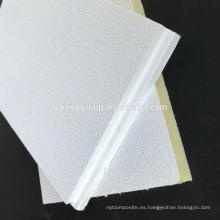 Azulejo de techo acústico de lana de fibra de vidrio