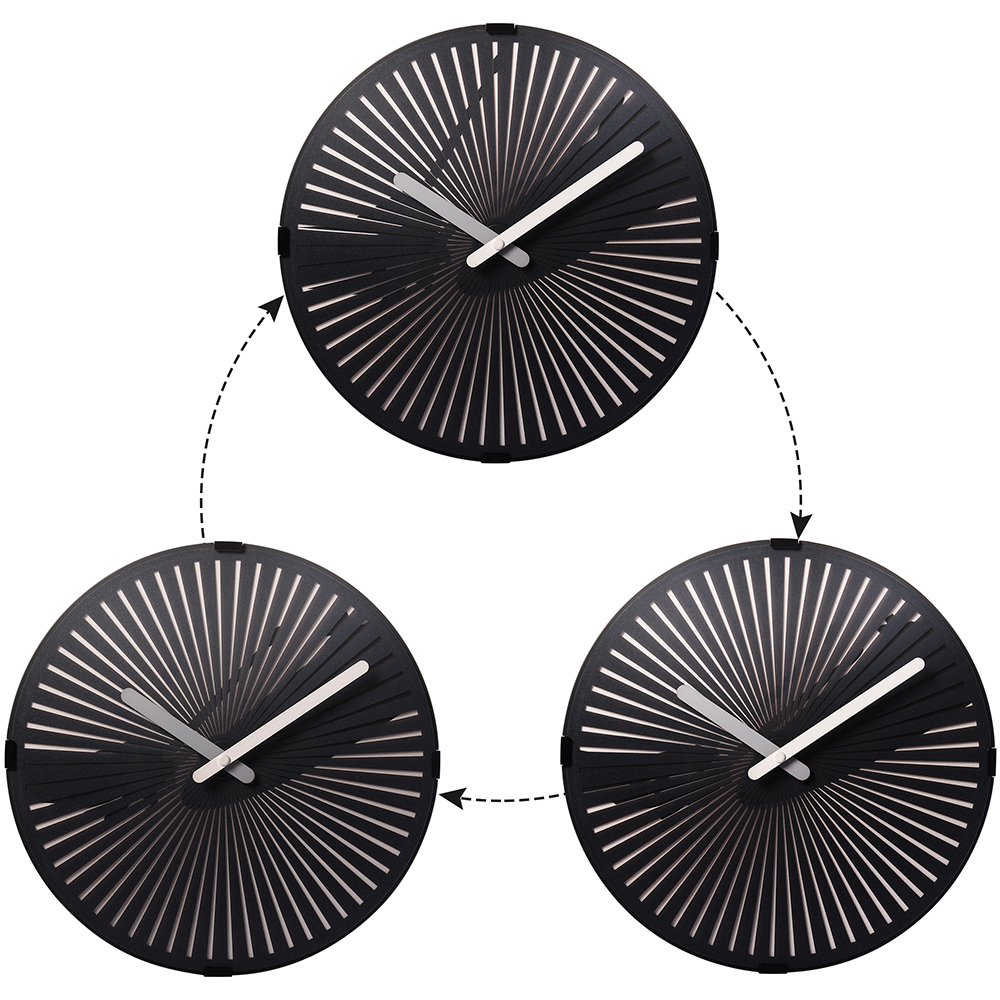 Wide Wall Clocks